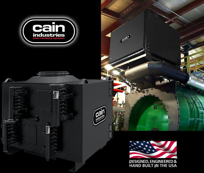 Cain Industries DXL Two Stage Condensing Boiler Economizers