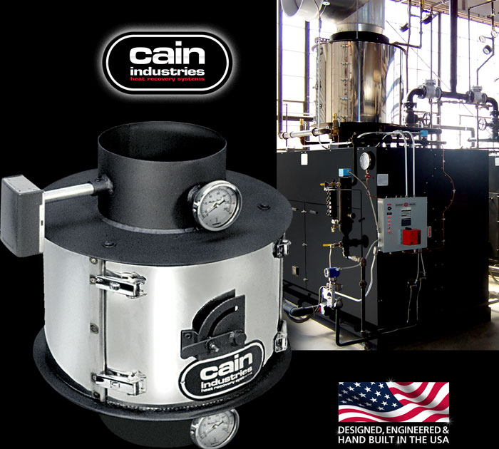 Cain Industries EM (Energy Manager) Boiler Economizers