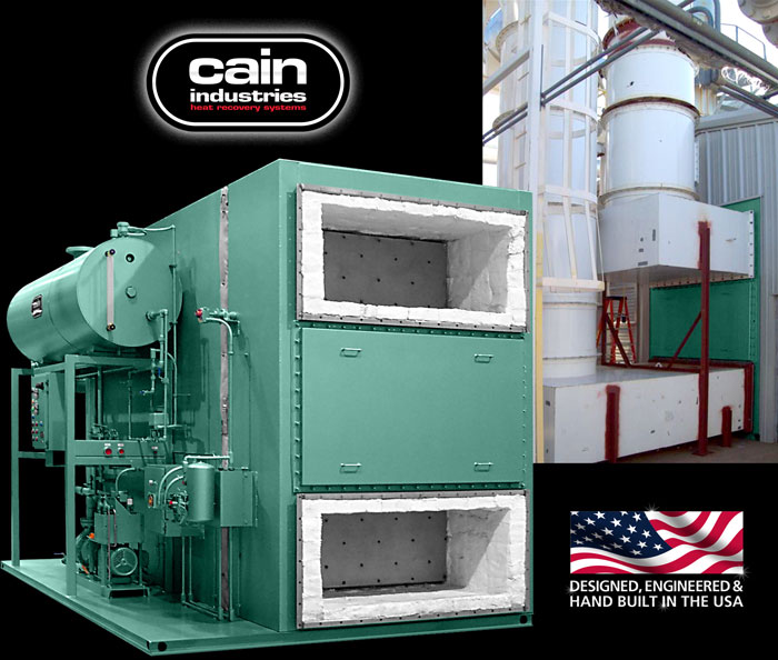 Cain Industries ESG (Exhaust Steam Generator) Fume Incineration