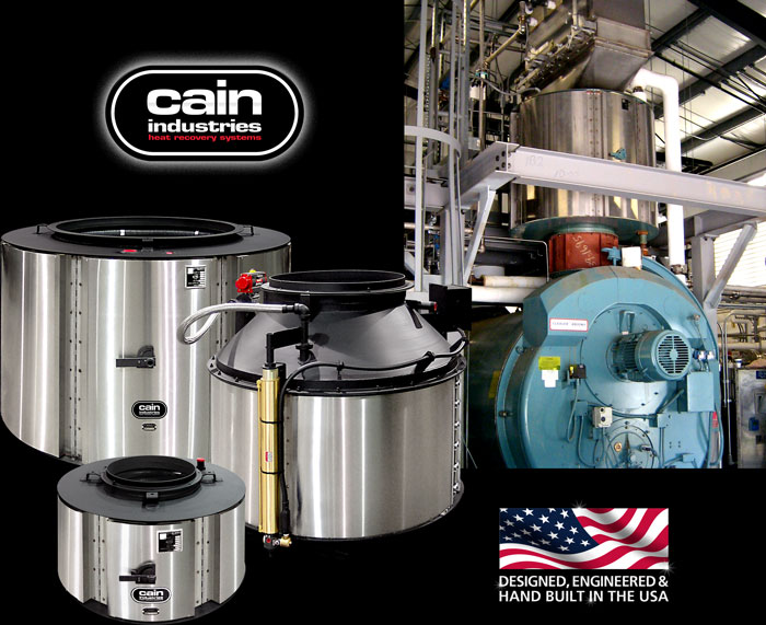 Cain Industries FCR (fin coil recovery) Boiler Economizers