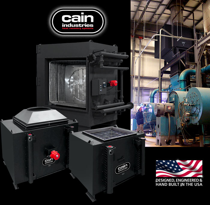 Cain Industries RTR (Rectangular Tube Recovery) Boiler Economizers