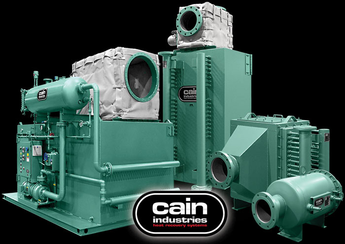 Cain Industries Cogeneration Exhaust Heat Exchange