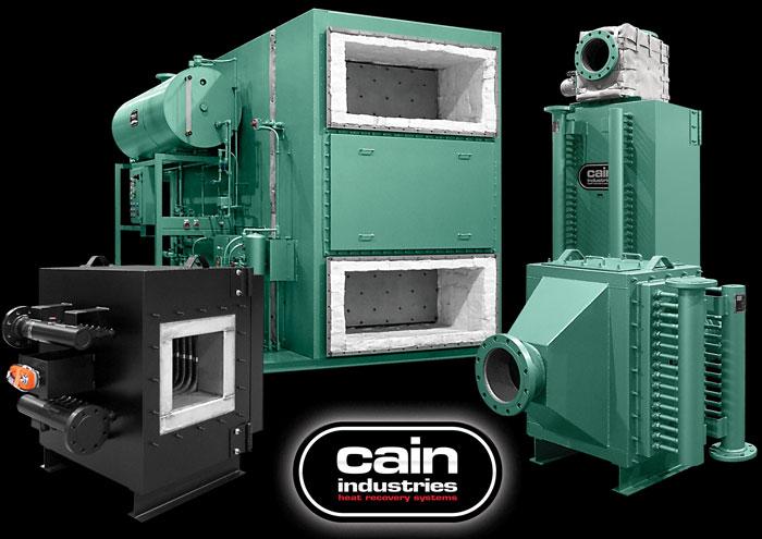 Cain Industries Fume Incineration Exhaust Heat Exchange